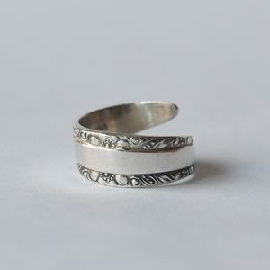 Vintage Towle Sterling Silver Spoon Ring